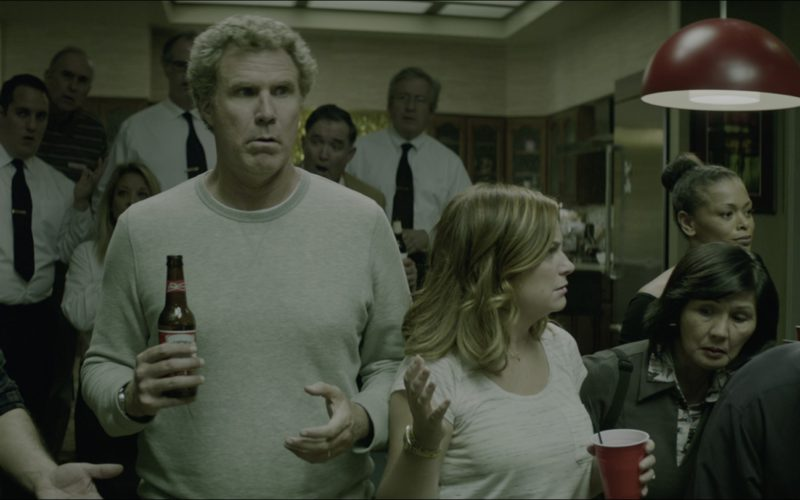 Budweiser Beer Drunk by Will Ferrell in The House (4)