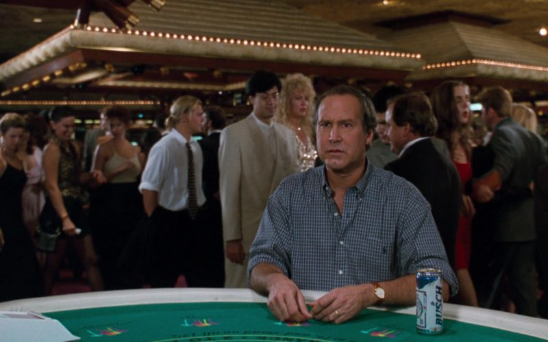Busch Beer Drunk by Chevy Chase in Vegas Vacation (3)