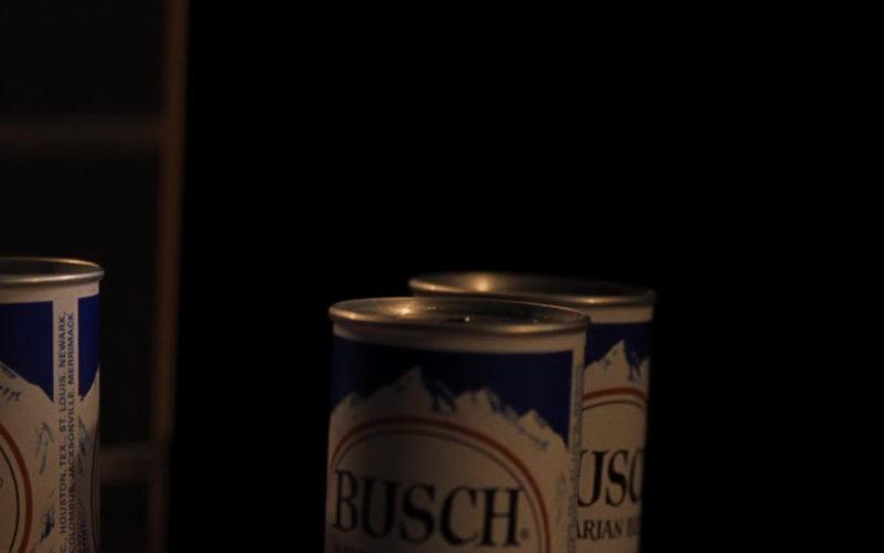 Busch Beer in First Man
