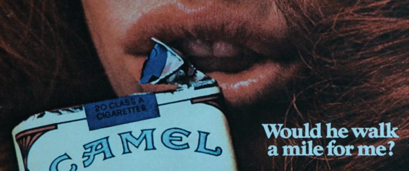Camel Cigarettes in Under the Silver Lake (2018) Movie Product Placement
