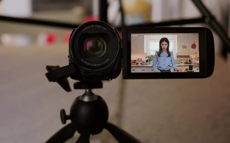 Canon Camcorder Used by Anna Kendrick in A Simple Favor