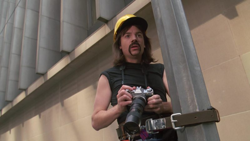 Canon Camera Used by Mike Myers in Wayne's World 2 (1993) Movie Product Placement