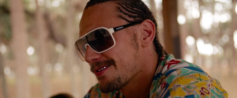Carrera Sunglasses Worn by James Franco (Alien) in Spring Breakers (2012) Movie Product Placement