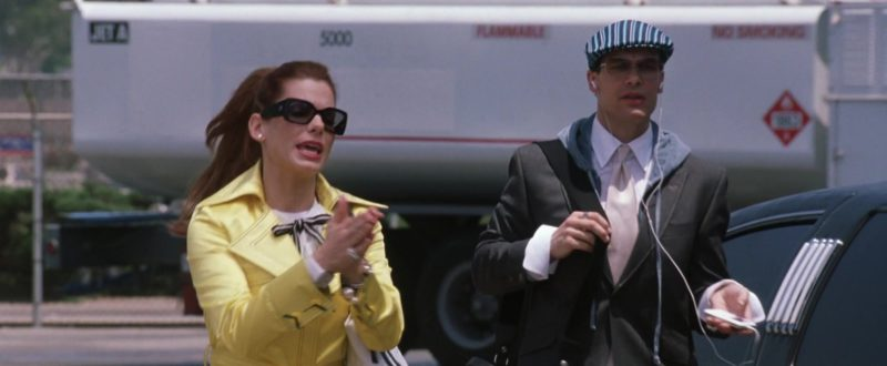 Chanel Sunglasses Worn by Sandra Bullock in Miss Congeniality 2: Armed & Fabulous (2005) Movie Product Placement