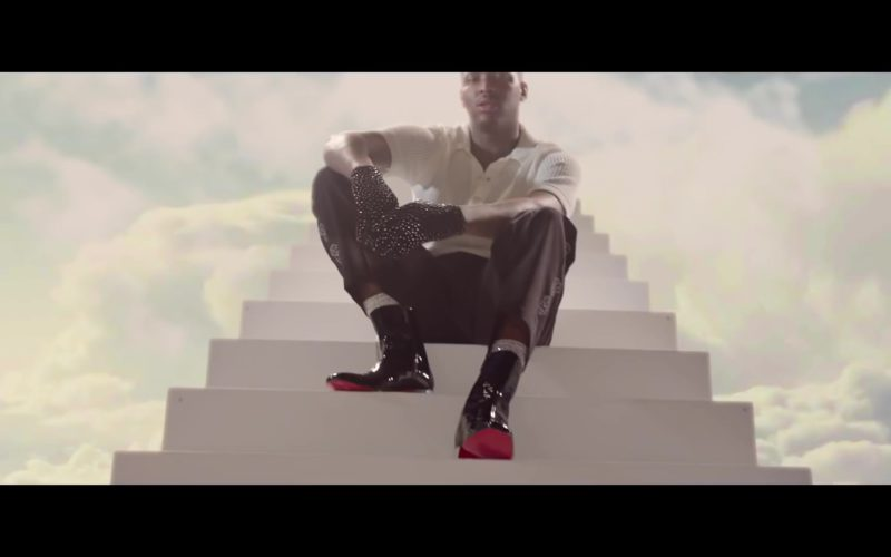 Christian Louboutin Men's Shoes Worn by YG in Slay ft. Quavo (6)