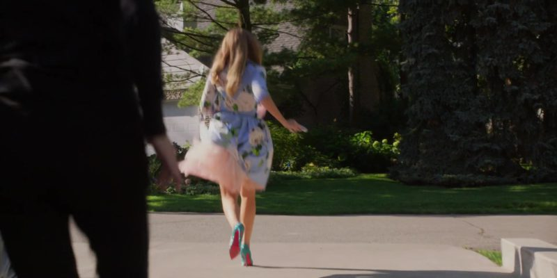 Christian Louboutin Pumps Worn by Blake Lively in A Simple Favor (2018) Movie Product Placement