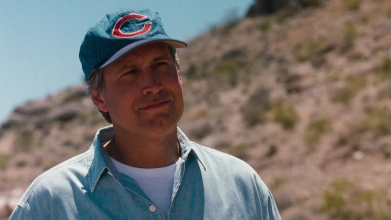 Cincinnati Reds Baseball Team Cap Worn by Chevy Chase in Vegas Vacation (1997) - Movie Product Placement