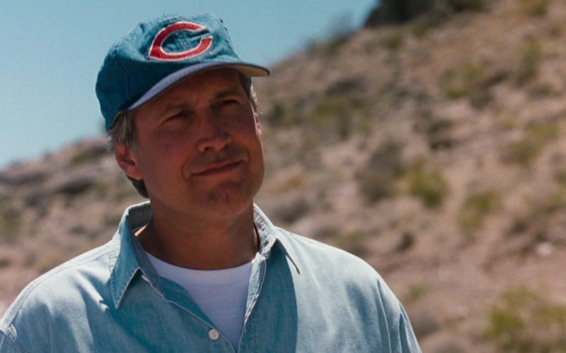 Cincinnati Reds Baseball Team Cap Worn by Chevy Chase in Vegas Vacation (1)