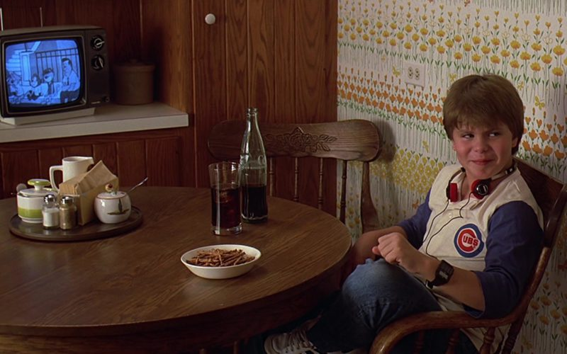 Coca-Cola Bottle and Chicago Cubs Tee Worn by Justin Henry in Sixteen Candles (1)