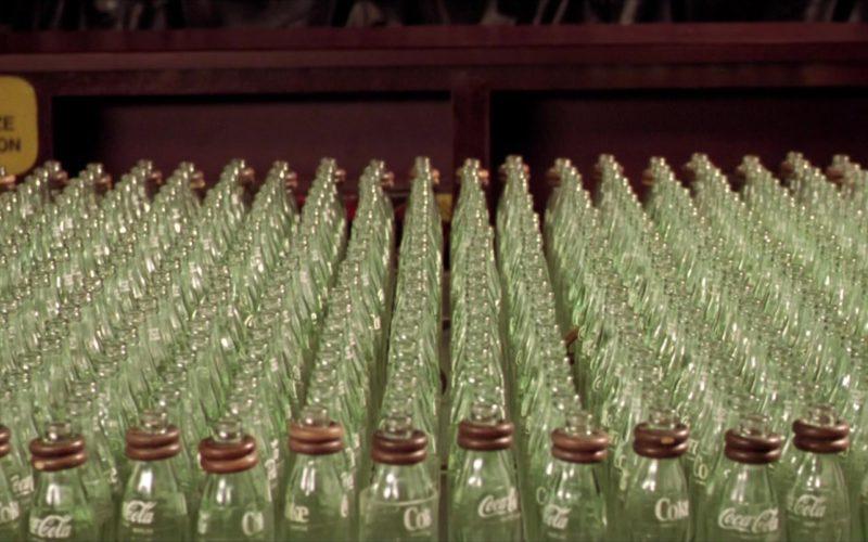 Coca-Cola Bottles in The Cooler