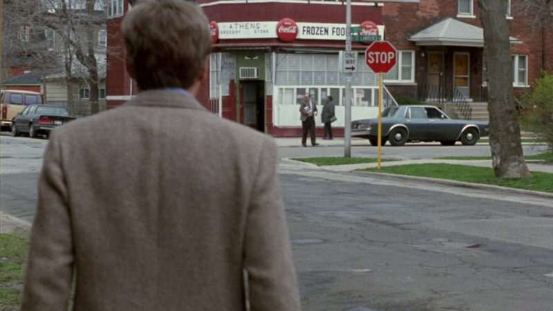 Coca-Cola Round Signs in The Fugitive (1993) Movie Product Placement