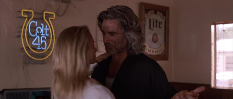 Colt 45 and Lite Beer Signs in Road House (1989) Movie Product Placement