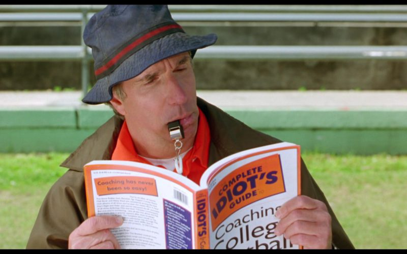 Complete Idiot's Guides To Coaching College Football in The Waterboy (1)