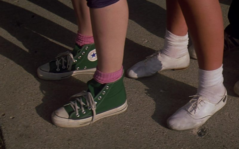 Converse Green Shoes in Sixteen Candles