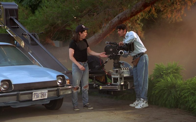 Converse Men's White Sneakers in Wayne's World (1)