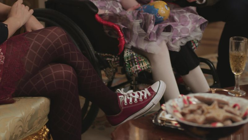 Converse Shoes Worn by Rose McIver in A Christmas Prince (2017) Movie Product Placement