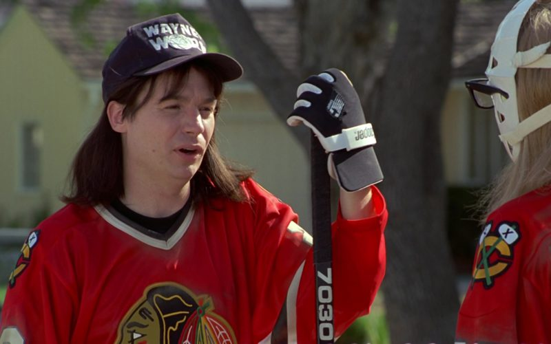 Cooper Ice Hockey Gloves Worn by Mike Myers in Wayne's World (1)
