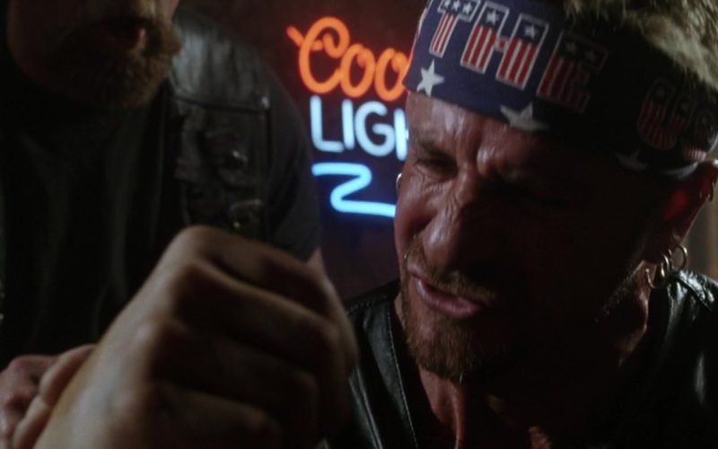 Coors Light Neon Sign in Miss Congeniality 2