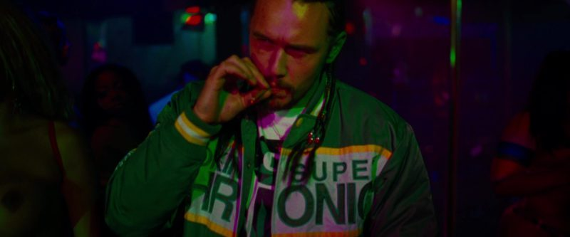 DGK Smoking Super Chronic Jacket Worn by James Franco in Spring Breakers (2012) - Movie Product Placement