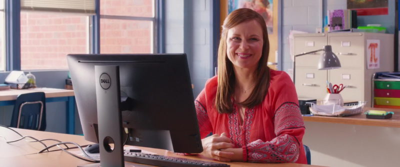 Dell Computer Used by Mary Lynn Rajskub in Night School (2018) - Movie Product Placement