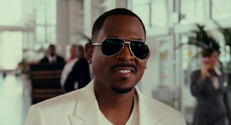 Dolce&Gabbana Sunglasses Worn by Martin Lawrence in Welcome Home, Roscoe Jenkins (2008) Movie Product Placement