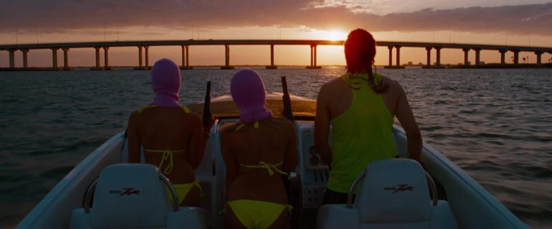 Donzi ZR Powerboat in Spring Breakers (2012) Movie Product Placement