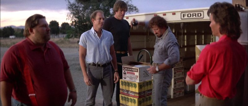 Drambuie Liqueurs and Tia Maria Coffee Liqueurs in Road House (1989) Movie Product Placement
