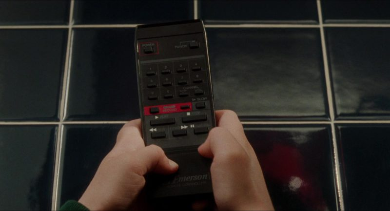 Emerson TV Remote in Home Alone (1990) - Movie Product Placement