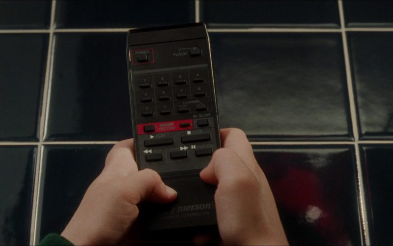 Emerson TV Remote in Home Alone
