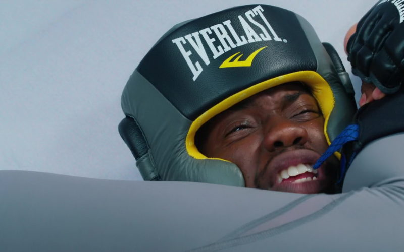 Everlast Headgear and MMA Gloves Worn by Kevin Hart in Night School (1)