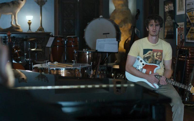 Fender Guitar Used by Andrew Garfield in Under the Silver Lake (1)