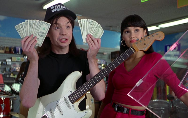 Fender Guitar Used by Mike Myers in Wayne's World (5)