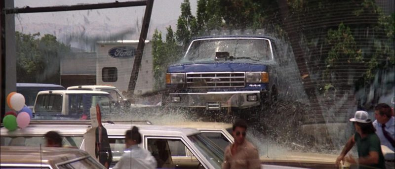Ford F-250 Car in Road House (1989) Movie Product Placement