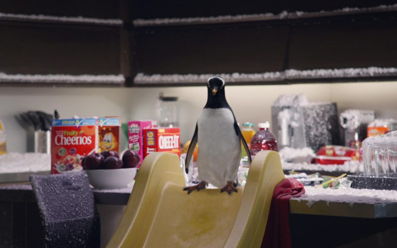 Fruity Cheerios Cereal and Cheez-It Crackers in Mr. Popper's Penguins (1)