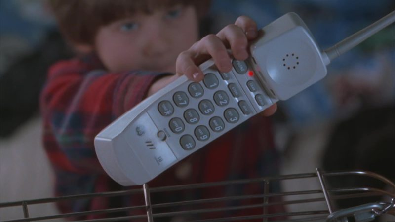 GE Telephone in Home Alone 3 (1997) Movie Product Placement