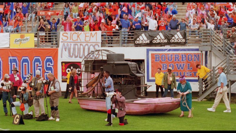 Gatorade and Adidas in The Waterboy (1998) Movie Product Placement