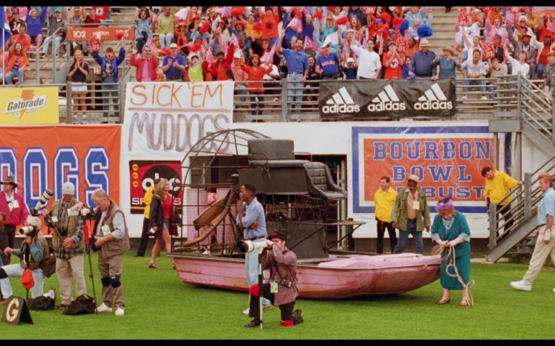 Gatorade and Adidas in The Waterboy (1)