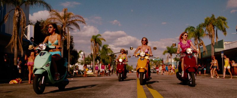 Genuine Buddy Scooters in Spring Breakers (2012) Movie Product Placement