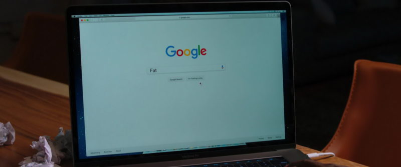 Google Web Search in Night School (2018) Movie Product Placement