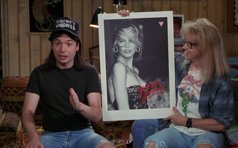 Guess Jeans Poster in Wayne's World (1)
