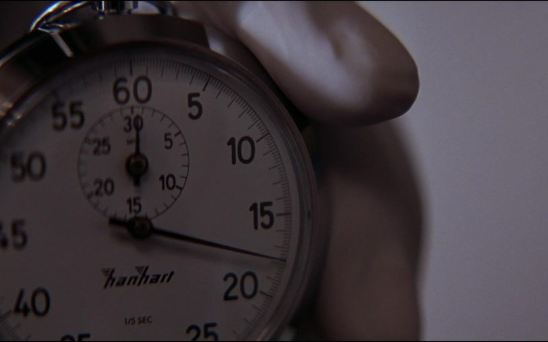 Hanhart Mechanical Stopwatch in The Thomas Crown Affair