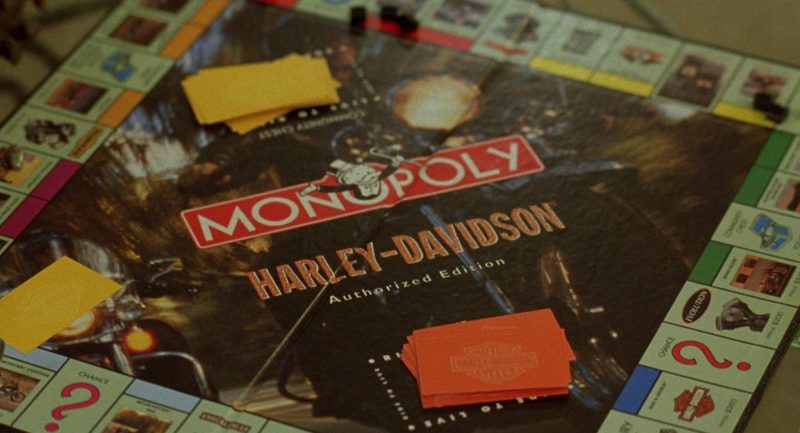 Harley-Davidson MONOPOLY Authorized Edition in Erin Brockovich (2000) Movie Product Placement