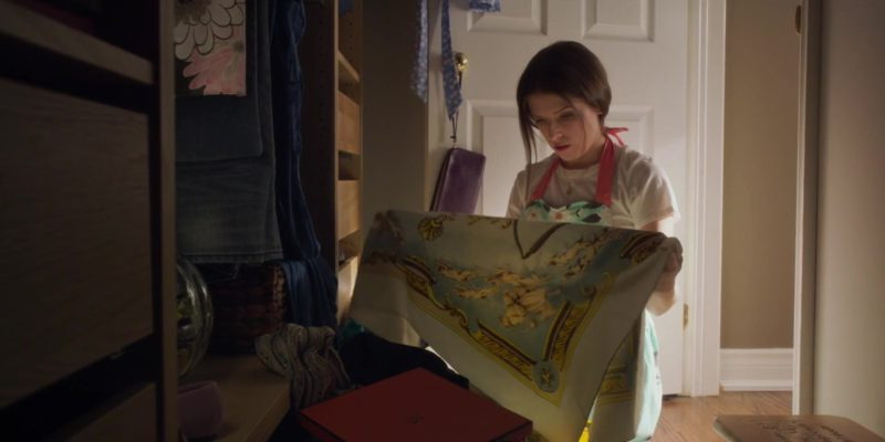 Hermes Scarf Worn by Anna Kendrick in A Simple Favor (2018) - Movie Product Placement
