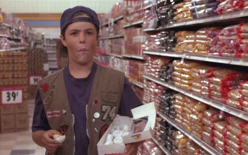 Hostess Powdered Donettes in Little Giants (1)