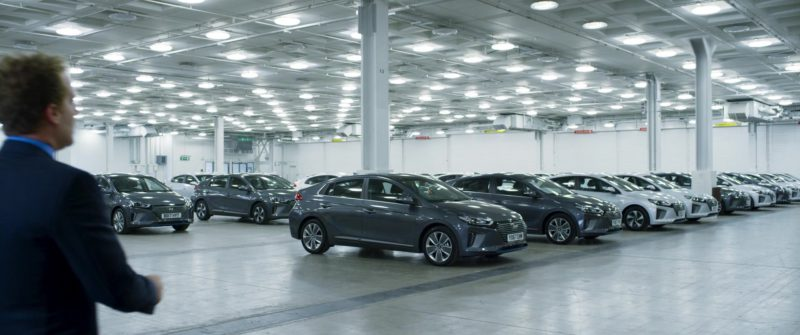 Hyundai Ioniq Cars in Johnny English Strikes Again (2018) - Movie Product Placement