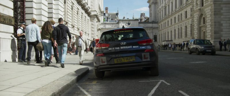 Hyundai i30 Car Driven by Rowan Atkinson in Johnny English Strikes Again (2018) Movie Product Placement