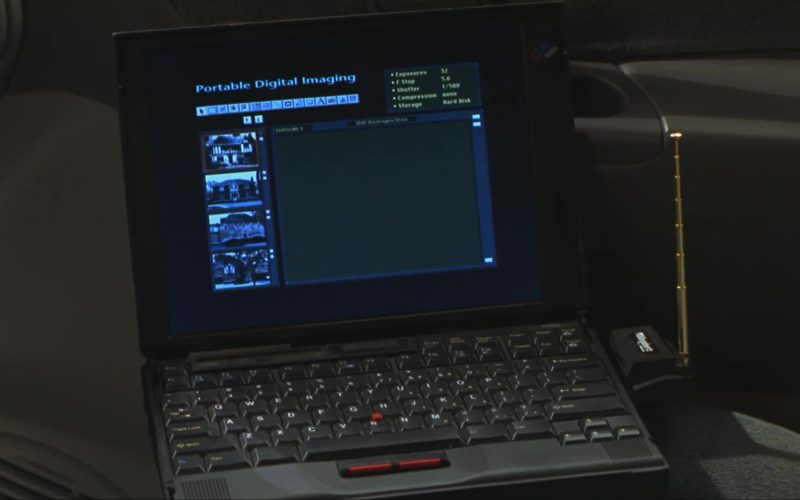 IBM Thinkpad Laptop in Home Alone 3 (1)