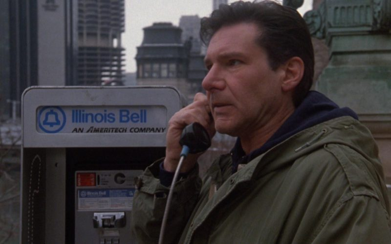 Illinois Bell An Ameritech Company Payphone Used by Harrison Ford in The Fugitive (1)