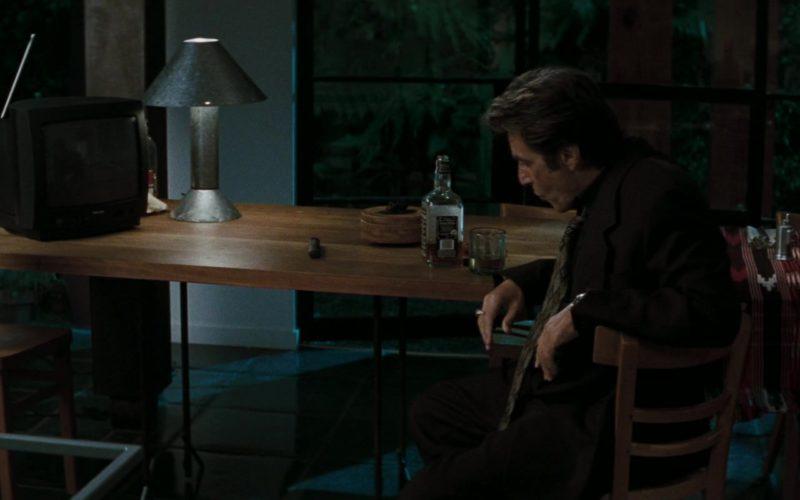 Jack Daniel's Tennessee Whiskey Drunk by Al Pacino in Heat