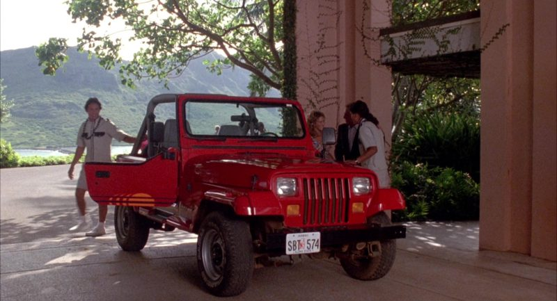 Jeep Wrangler in Honeymoon in Vegas (1992) Movie Product Placement